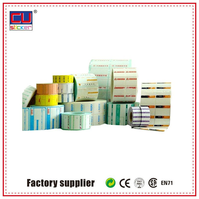 Custom Roll To Roll Digital Label Printing Machine Adhesive Bottle Labels