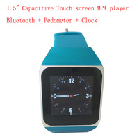 "Alibaba 1.5"" Capacitive Touch screen bluetooth mp4 mp5 player and western wrist watches"