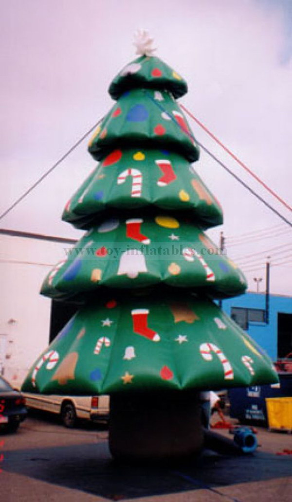 New cheap pvc tree inflate christmas