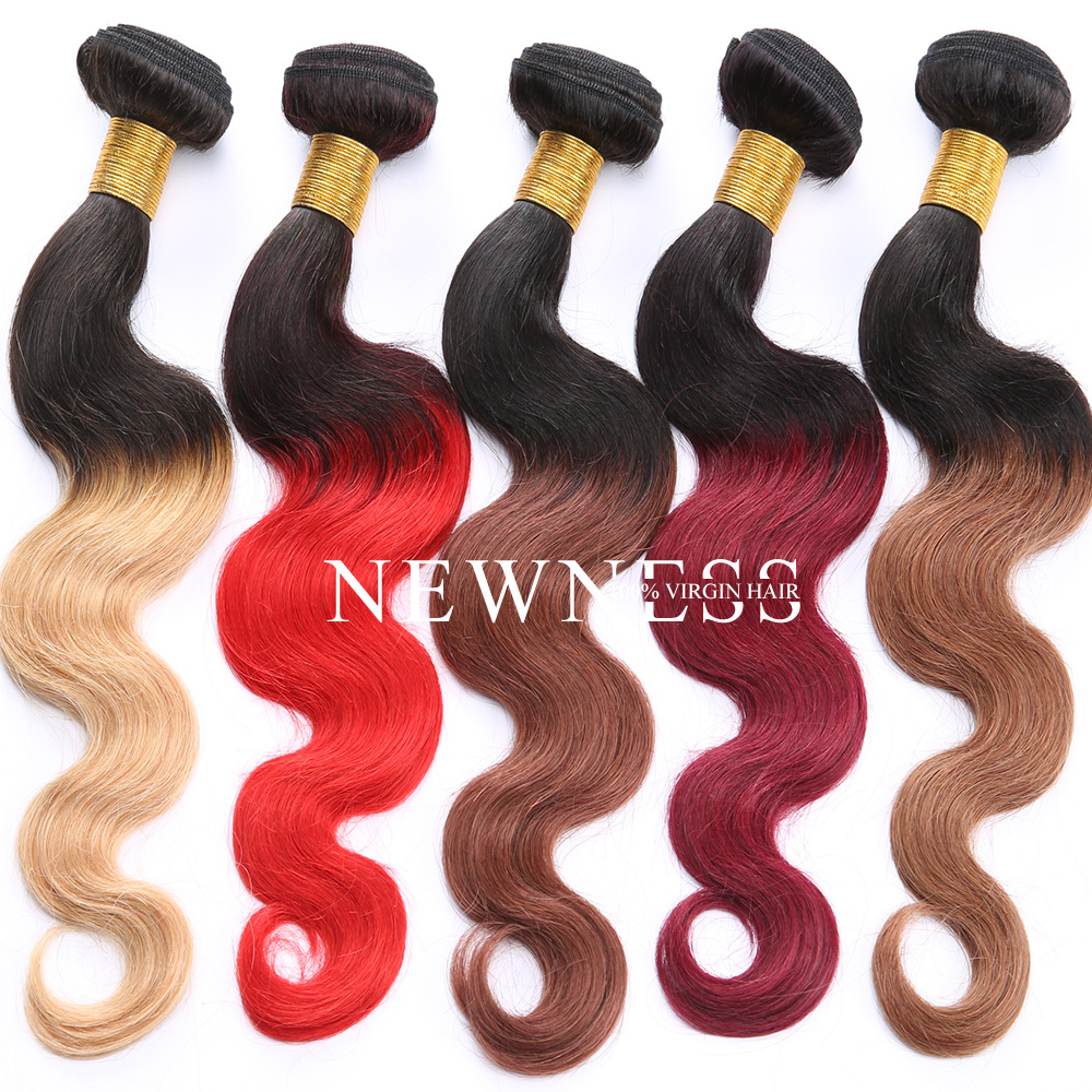 Top Grade black star micro braid weft hair ombre hair