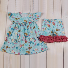 Donut girls clothes wholesale high quality children clothing factory in china plus size wholesale children clothing