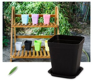 decoration flowers plastic flower pot hydroponic growing systems garden accessory good quality garden flower pots