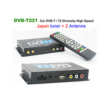 USB TV Tuner DVB-T221 DVB-T2 DVB-T MULTI PLP Digital TV Receiver For Automobile DTV Box