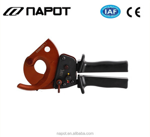 High quality hand tool J40A Manual Ratchet cable Cutter for cutting 300mm2 Cu-Al armored cable