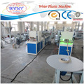 PVC veneer poly wood grain plastic furniture edge band production line with printing machines