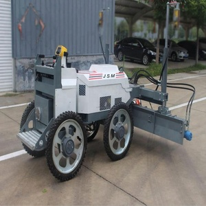 HONDA Gasoline ride on concrete laser screed paving machine for sale