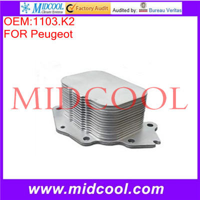 High Quality Engine Oil Cooler OEM:1103.K2