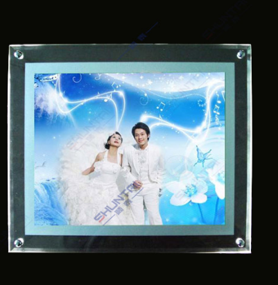 High Quality crystal Light Box For Advertising factory price