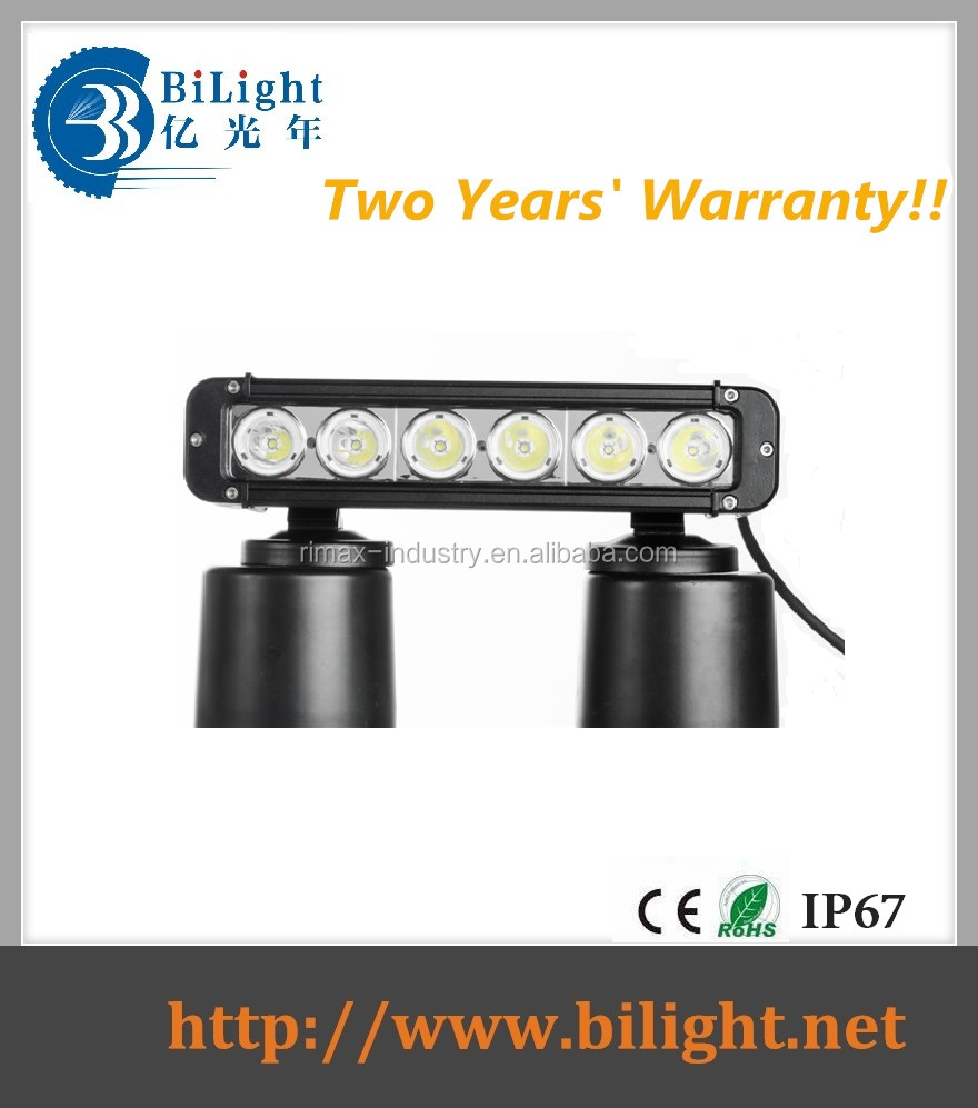 BiLight New!!! 60W Single Row-Curved-Bottom LED LIGHT BAR for 4x4 jeep/suv/truck