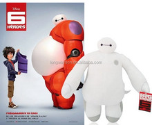2015 hot sale new style plush doll 48cm baymax big hero 6 plush toy for kids wholesale china supplier