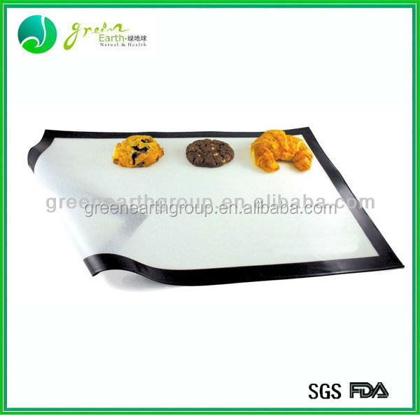 2014Hot sale Food Grade Nonstick silicone heating mat/sheet