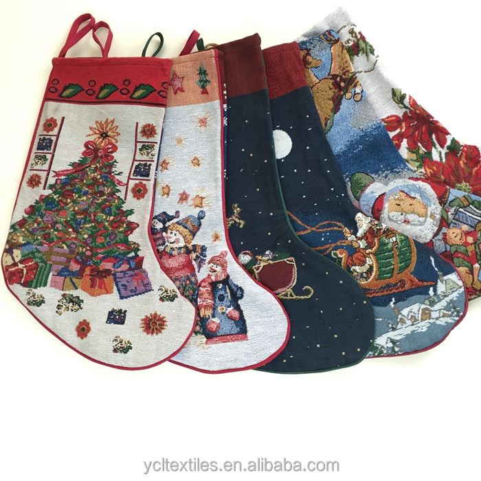 2015 wholesale christmas stockings holders