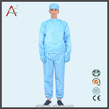 China Wholesale polyester esd cleanroom smock