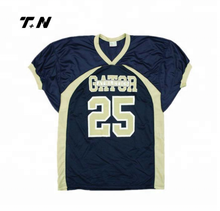 Wholesale Custom American football practice jerseys Sublimation football jersey