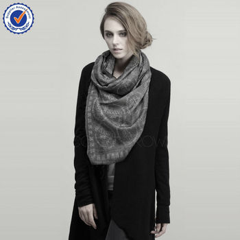 Fashion scarf for distributor C0912016 cashmere wool scarf