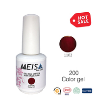 2017 Bestnail Free sample custom brand organic natural color gel nail gel polish