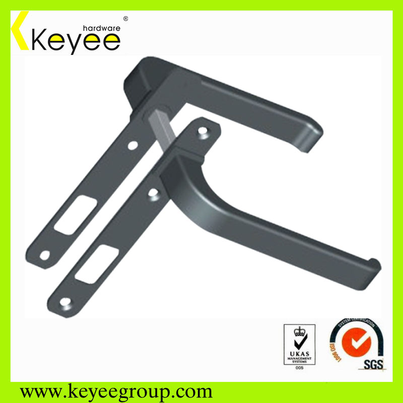 Double sided door handle lock