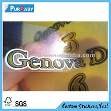High-quality vinyl water-based adhesive label