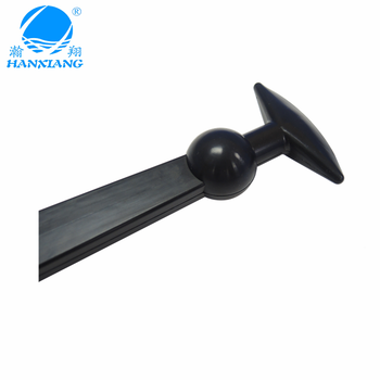 China factory custom corrosion-rresistant rubber parts of custom rubber hood latch