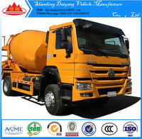 4x2 bulk feed discharge 5 wheeler cement truck