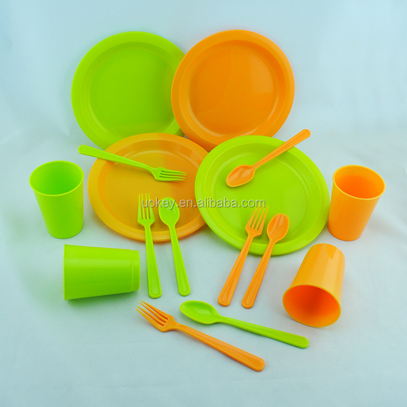 Easy to carry the disposable tableware other safe biodegradable tableware