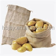 Recyclable Feature and cocoa or rice Use jute sack bags for cocoa with factory price