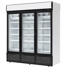 Superstore glass door chiller/cooler/refrigerator/freezer showcase