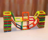 hot sell 118 pcs magformers toy , magnetic toy , magnetic jigsaw