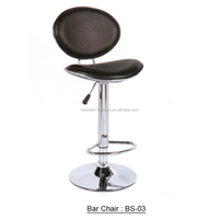 Modern design high back leather bar chair