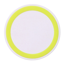 Mini Colorful Round Wireless Charger for universal mobile Phone