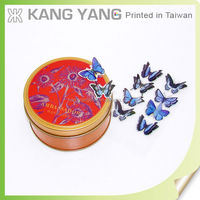 Custom Kids 3d Sticker Butterfly Cutout Pattern