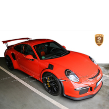 Body kit for por 911 991 to gt3rs style top car body kits