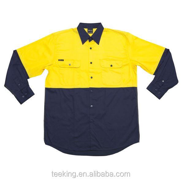Custom hi vis work wear shirt buy hi vis shirt work for Custom hi vis shirts