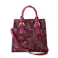 Designer Fashion Woman Bags Red Camouflage Lady Tote Handbag