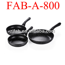 Aluminum stone coated frying pans, stone coated cooking pans
