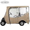 Enclosure Zipper Door Golf Cart Cover With PVC Rain Cover