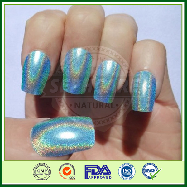 Spectraflair holographic powder for nails, holographic laser pigment