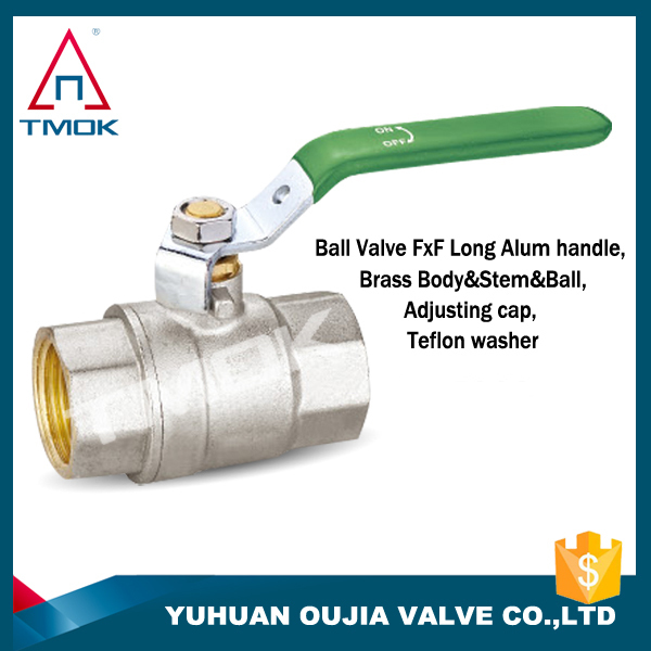 "pn25 swan tap 3/4"" 2pc brass ball valve"