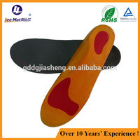 hottest printing design good quality pu insole for sport running shoes