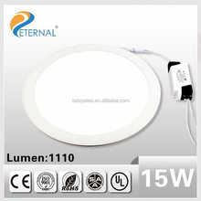 High lumens panel led light surface smd2835 15W 100-240V 3 years warranty