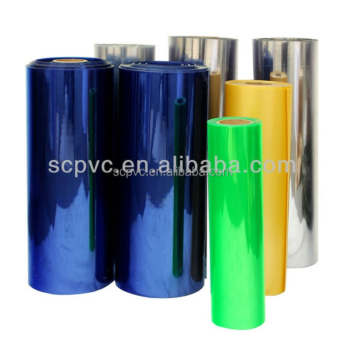 Factory price clear pvc film hard plastic material
