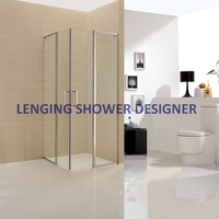Personalized hexagon circular shower enclosure cubicles sri