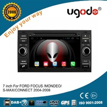 ugode 7 inch in dash 2 din car gps navigation for Ford focus /Mondeo 2004 2005 2006 2007 2008