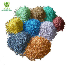 Environmental Coloful 1-3mm/ 2-4mm EPDM Rubber Granules For Playground