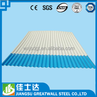 0.4mm metal color corrugated roofing steel sheet for building material