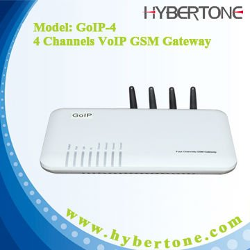 GOIP4 4 SIM cards VOIP GSM FXO port gateway