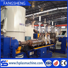 Plastic pelletizing machine/waste recycle granules making machine