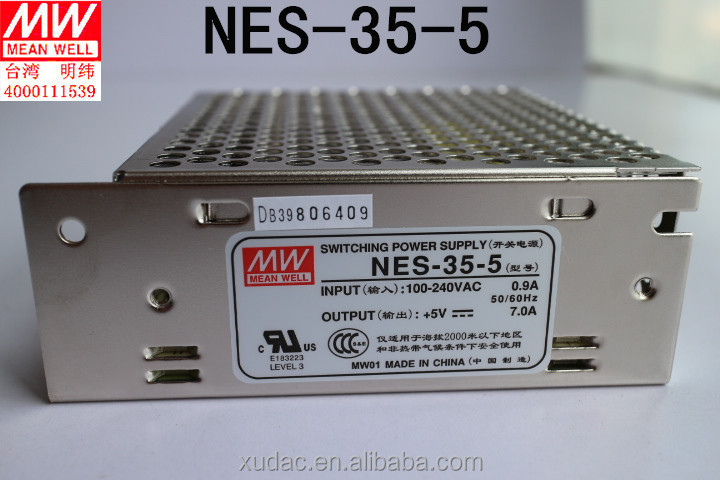 <strong>100</strong>% New and Original MW Switching power <strong>supply</strong> NES-35-5