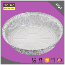 1200ml Disposable aluminium foil heater plate aluminum plate