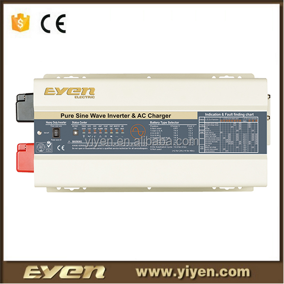 New type 3000W pure sine wave solar inverter automobile vehicle mounted system power solution